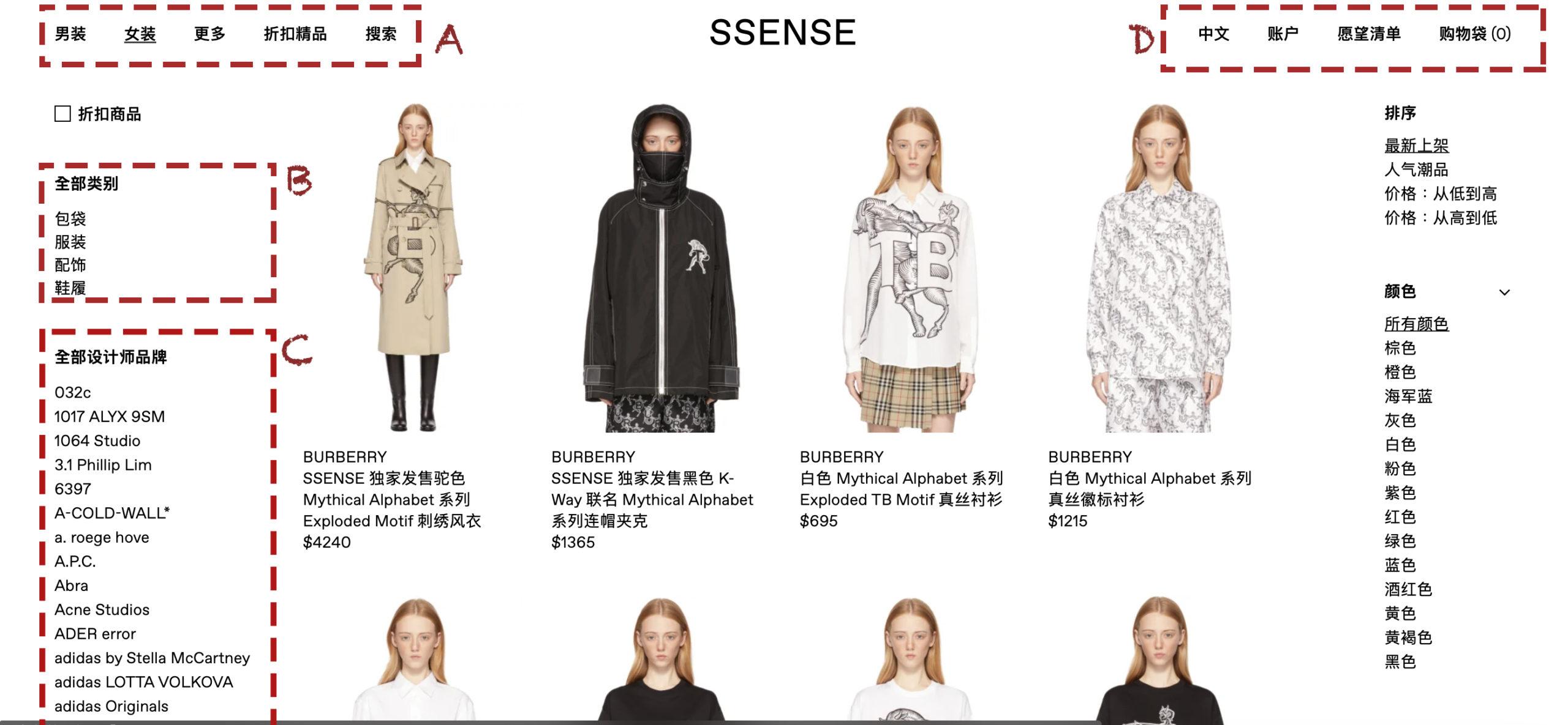 SSENSE 購物教學 網站介紹