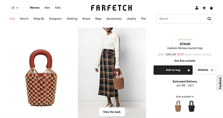 STAUD 歐美風包包10款推薦分享|Farfetch 夏季折扣