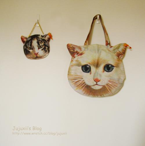 日本品牌muchacha  2012 Spring&Summer 雜誌附錄貓咪包 @Jujuxii's Blog