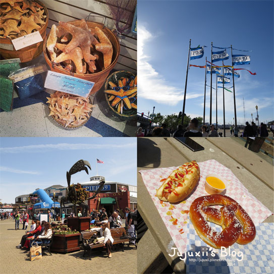 ::旅遊::舊金山 PIER 39 漁人碼頭 Fisherman's Wharf @Jujuxii's Blog