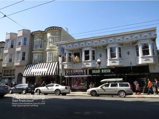 Haight and Ashbury Streets 10