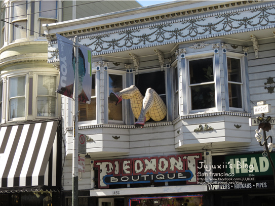 Haight and Ashbury Streets 11