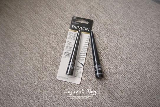 ::彩妝::REVLON露華濃0.1mm激細防暈眼線液 長年愛用的線液終於升級勒 @Jujuxii's Blog