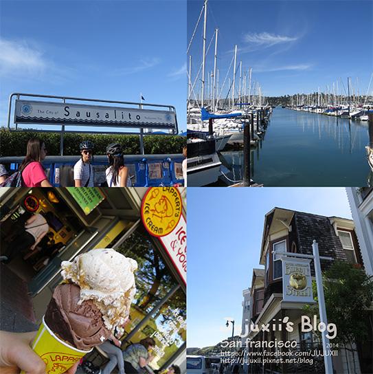 ::旅遊::美國加州舊金山Sausalito索薩利托 寧靜美好的純樸小鎮沙沙哩偷 II @Jujuxii's Blog