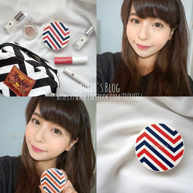 ::彩妝::Innisfree 另女孩們瘋狂的可愛氣墊粉盒-持妝遮瑕氣墊粉凝霜(文末小禮物) @Jujuxii's Blog