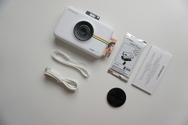 Polaroid Snap Touch 拍立得相印機 04.JPG
