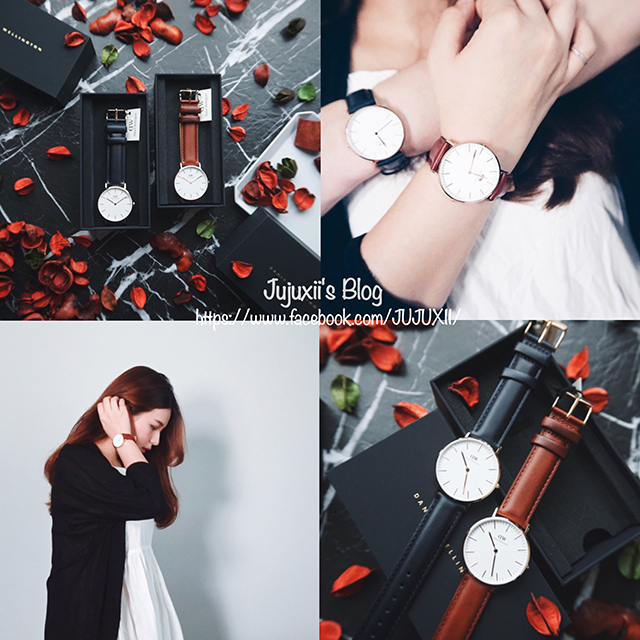 Daniel Wellington CLASSIC | SUFFOLK & SOMERSET限量錶帶開箱分享 @Jujuxii's Blog