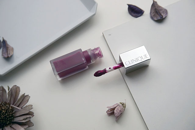 倩碧紐約普普絲絨唇釉CLINIQUE pop liquid matte lip colour 唇彩07.JPG
